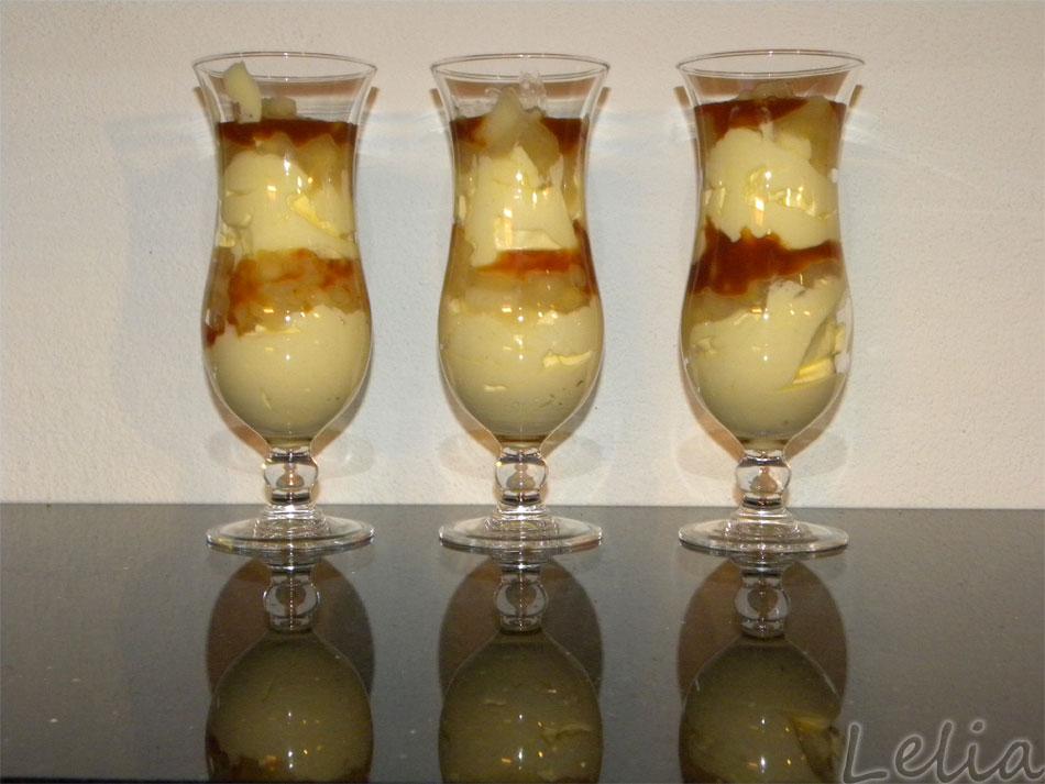 Mascarpone-Apfel-Karamel-Schichtcreme