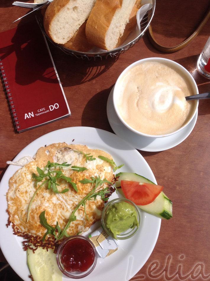 Halloumi-Frühstück im An Do