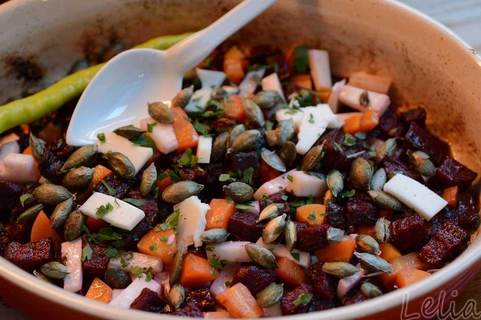 Wurzelgemüse-Salat
