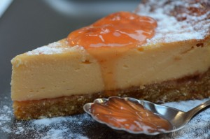 Quitten-Cheesecake