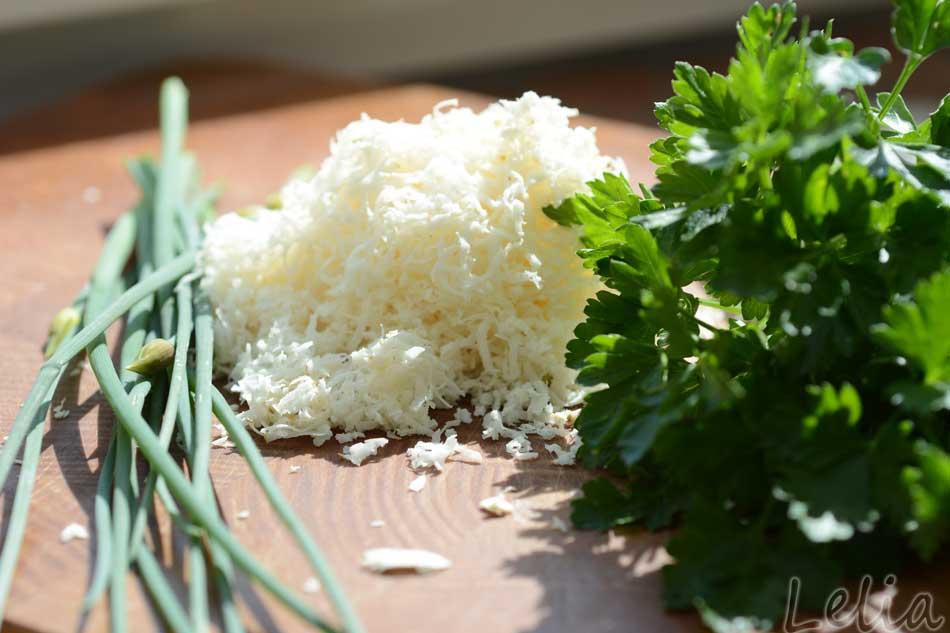 Mangold-Lauch-Braunschweiger-Gröstl auf Roggentoast