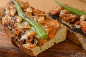 Herbstlicher Kürbis-Toast