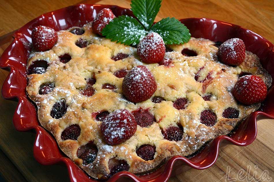 Erdbeerrührteigkuchen