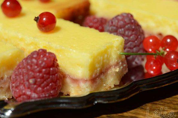 Shortbread – Zitronen – Schnitten