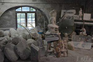 Werkstatt in Volterra
