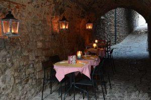 Romantischer Gastgarten in Suvereto