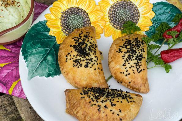 Butternut Empanadas – Gefüllte Teigtaschen mit Kürbis und Faschiertem, und das beste Pumpkin Latte Rezept