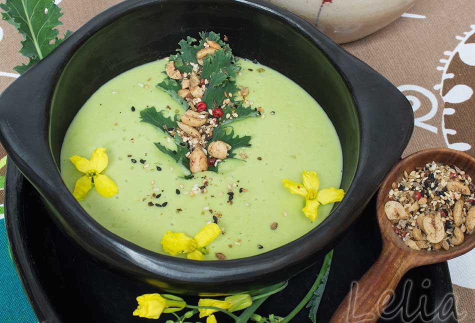 Kohlrüben – Kartoffelcremesuppe mit asiatischem Touch