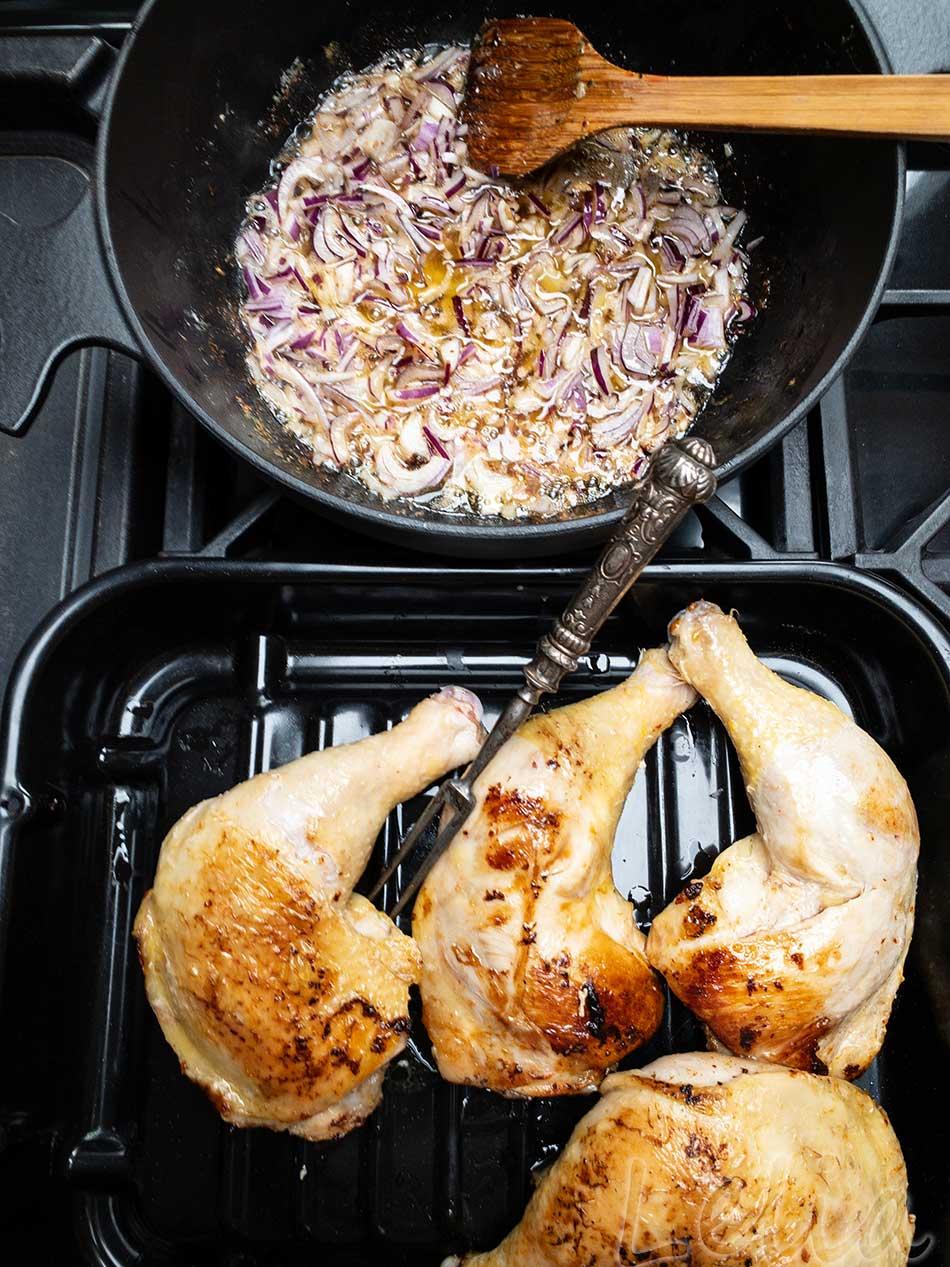 Georgisches Huhn 2 | Tatort Küche