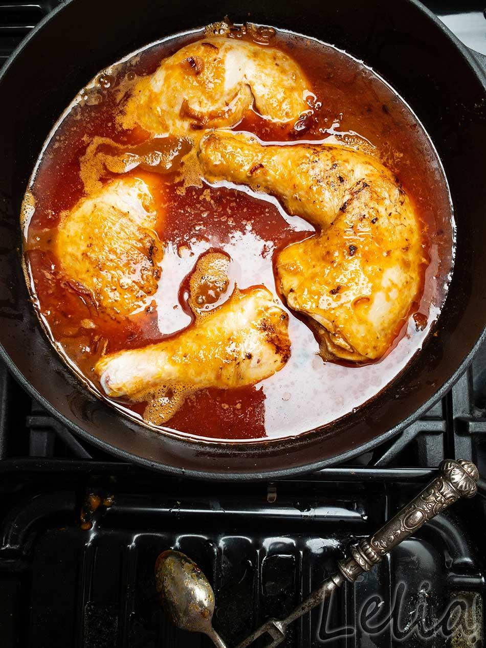 Georgisches Huhn 3 | Tatort Küche