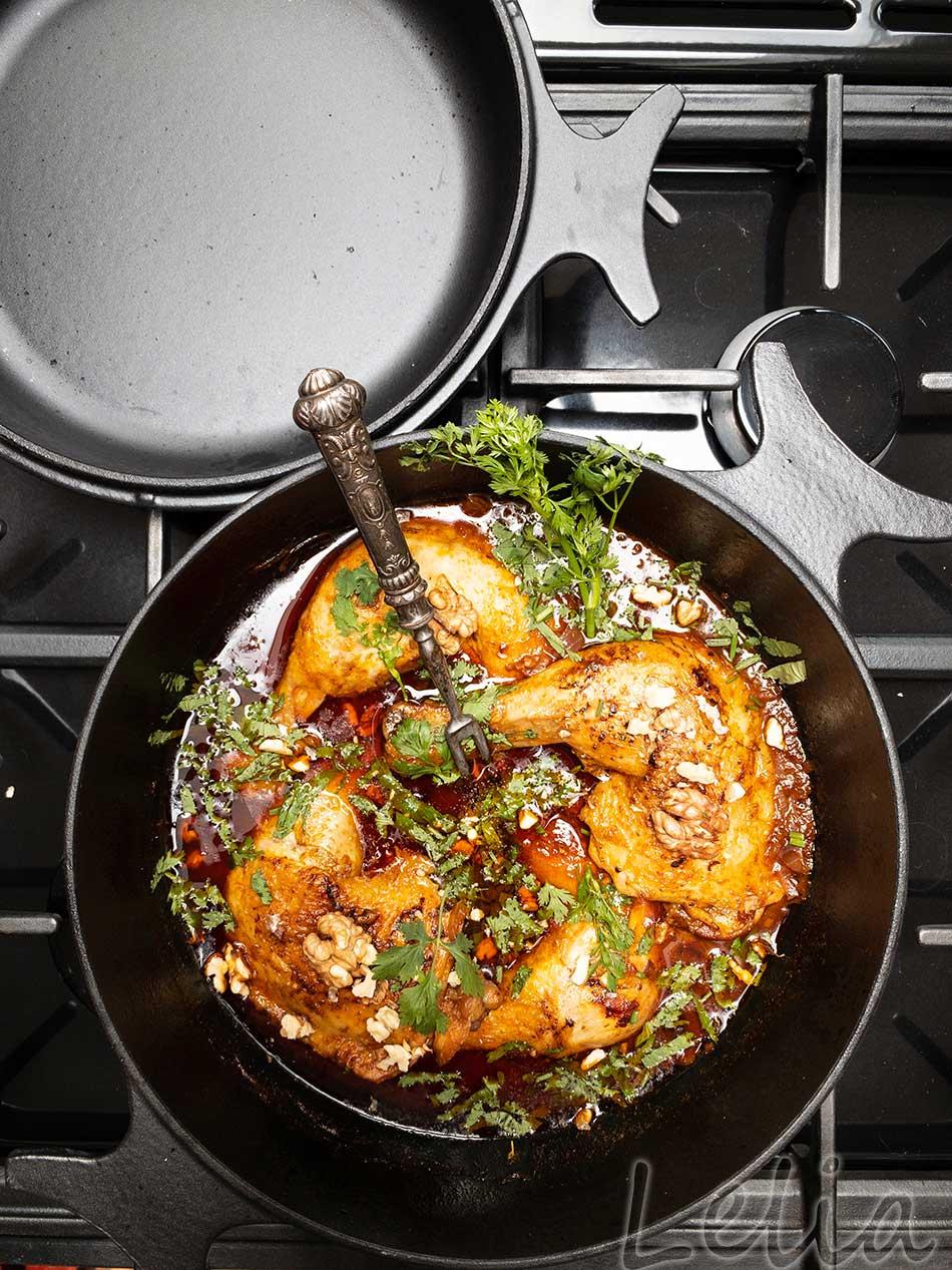 Georgisches Huhn 7 | Tatort Küche