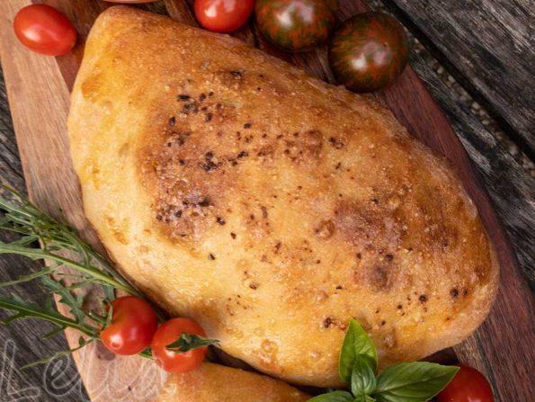 Calzone mit Melanzanifüllung … leckere Pizzataschen!