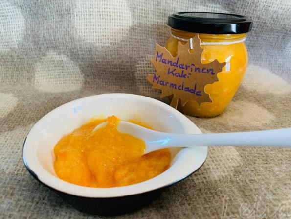 Gesunde Zitrusfrüche: Mandarinen – Kaki Marmelade